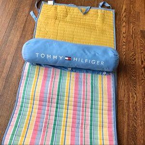 Tommy Hilfiger Other - NWT Tommy Hilfiger Striped Beach Mat w/ Pillow